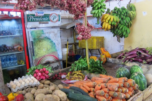 Roadside Market – Samaná, Dominican Republic