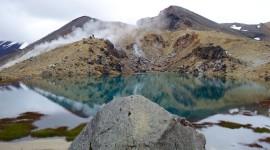 Fumerole – Tongariro National Park, New Zealand