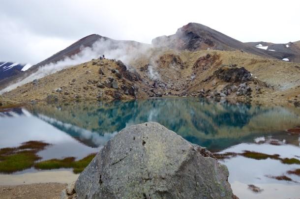 Fumerole - Tongariro National Park, New Zealand