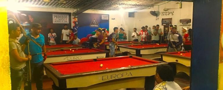 Local Billiard Hall – Minca, Colombia