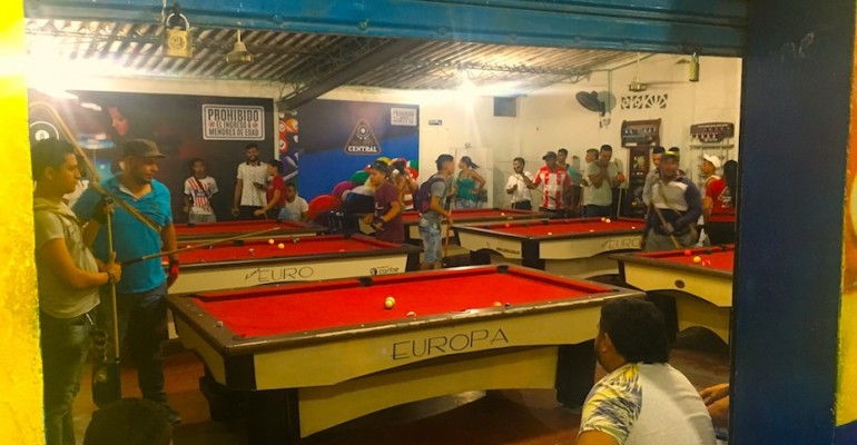 Local Billiard Hall – Minca, Colombia