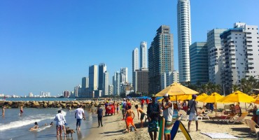 Playa Bocagrande - Cartagena, Colombia