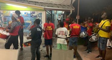 Carnival Practice – Sainte-Anne, Guadeloupe