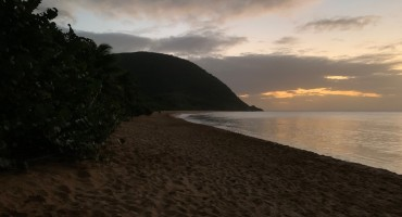 Grande Anse Beach at Night – Guadeloupe