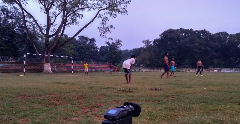 Playground at Dusk – Bhubaneswar, India