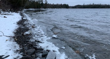 Gunflint Lake Ice – Minnesota, USA