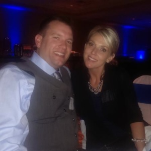 Brad Hartung and Carrie Carlisle