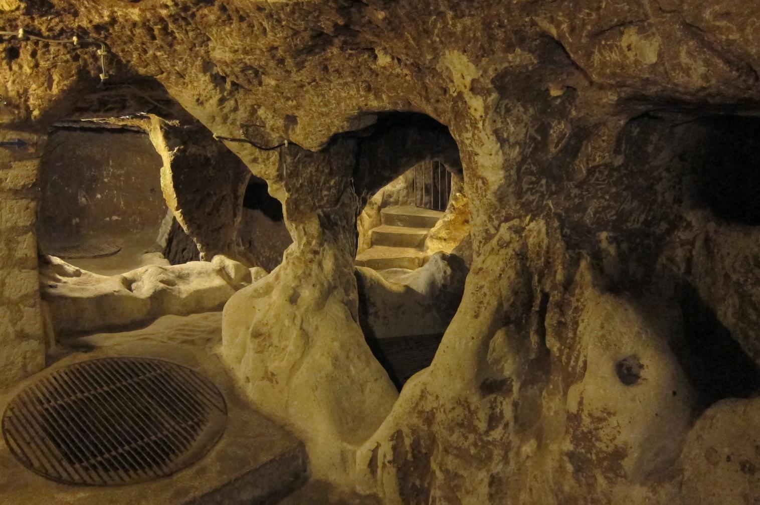 Derinkuyu Underground City – Cappadocia, Turkey « The Touch of Sound