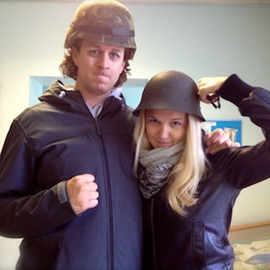 Luke and Reelika Huebner