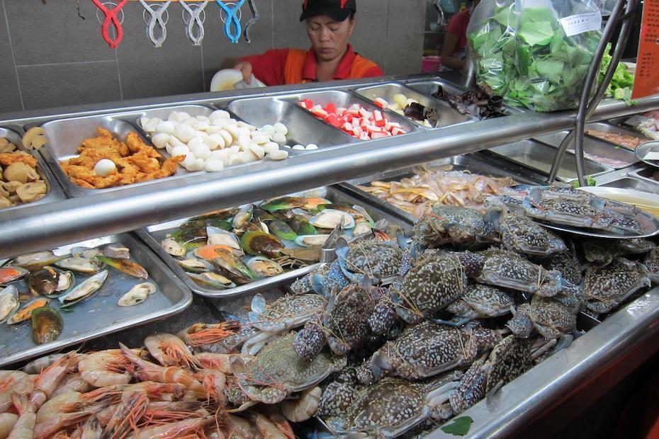 Top Spot Food Court Kuching